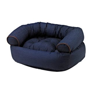Bowsers Diamond Series Cotton Double Donut Dog Bed Multicolor   12904, Small