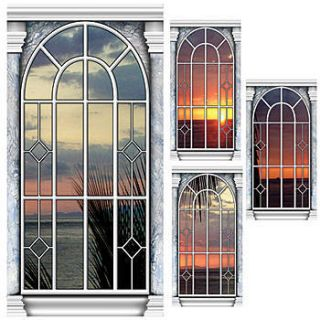 Sea Window Panel Standee Set