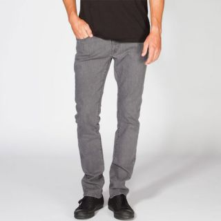 Vorta Mens Slim Straight Jeans Grey Overdye In Sizes 38, 30, 32, 33, 34,