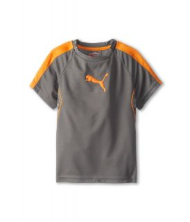Puma Kids Printed Tee Boys T Shirt (Pewter)