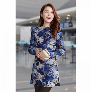 JFS Korea Sytle Womens Vintage Slim Fit Dress