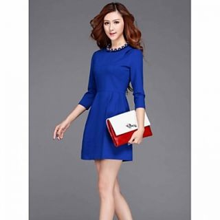 JFS European Style Womens Fashion Slim Fit Dress