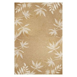 KAS Rugs HOR5706 Horizons Indoor / Outdoor Rug   Sage Fern Border Multicolor