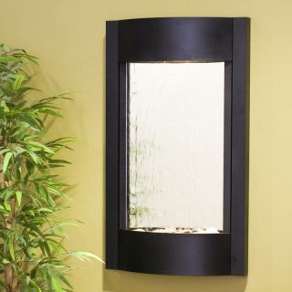 Adagio Serene Water Wall Fountain Black FeatherStone   SWA3511