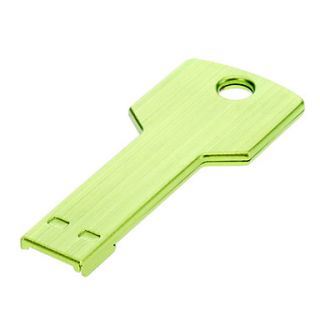 Key Shaped Metal USB Flash Drives 32G(Green)
