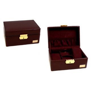 Bey Berk Personalized Reginald Watch Box   6.5L x 3H in. Multicolor   BYB556