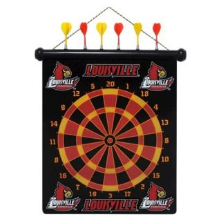 Rico NCAA Louisville Cardinals Magnetic Dart Board Set
