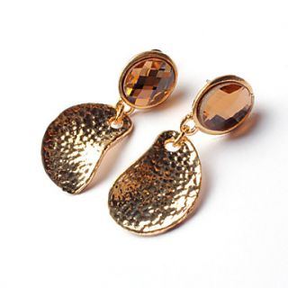 ME Gold Plated Water Drop Shape Earings