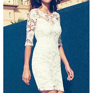HAND Womens Sweet Lace Dress