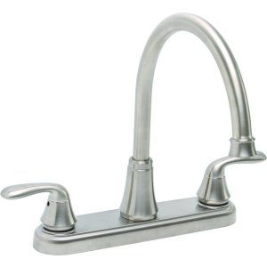 Premier Faucets 126966 Waterfront Lead Free Two Handle Kitchen Faucet without Sp