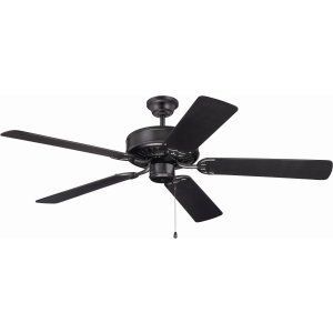 Ellington Fans ELF E52FB Pro 52 Ceiling Fan Motor only with Optional Light Kit