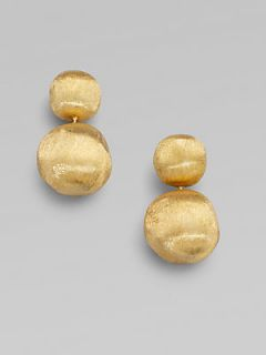 Marco Bicego 18K Yellow Gold Dome Earrings   Gold