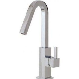 Aquabrass AB X7614 PC Xsquare Single Hole Lavatory Faucet