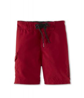 Billabong Kids Rum Point Boardshort Boys Swimwear (Red)