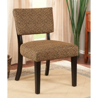 K b Leopard Print Accent Chair