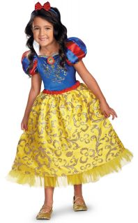 Disney Snow White Deluxe Sparkle Toddler / Child Costume