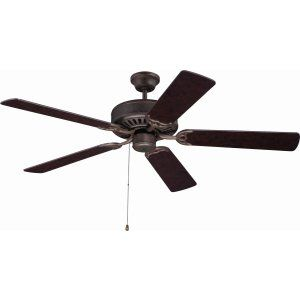 Ellington Fans ELF E52AG Pro 52 Ceiling Fan Motor only with Optional Light Kit