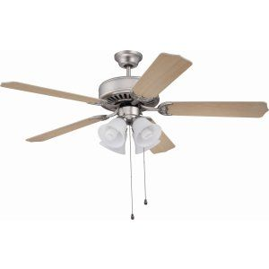 Ellington Fans ELF E203BN Pro 203 52 Ceiling Fan Motor only with Integrated Lig