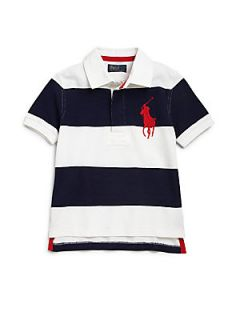 Ralph Lauren Toddlers & Little Boys Striped Rugby Polo Shirt