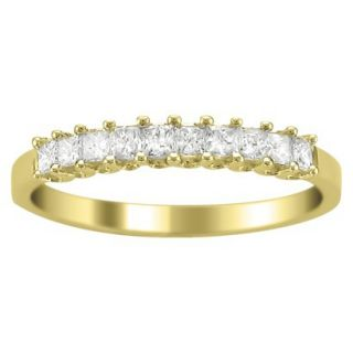 1/2 CT.T.W. Diamond Band Ring in 14K Yellow Gold   Size 7.5
