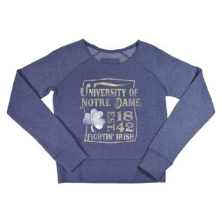 NCAA Kids Notre Dame Fleece   Grey (XS)