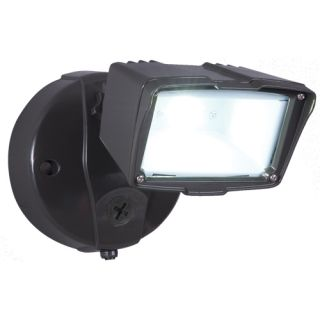 SureLites FSS1530LPCES Outdoor Light, AllPro DusktoDawn Small SingleHead LED Security Flood Light With Photocontrol, 5000K Energy Star Rated Bronze