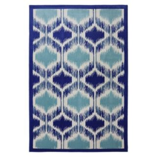 Mohawk Home Shades Woven Area Rug   Blue/Cream (5x8)