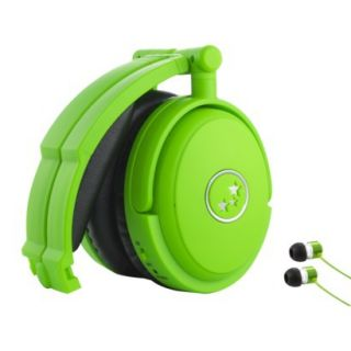 Able Planet Musicians Choice Noise Cancelling Headphones   Green