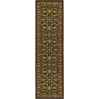 Lyndhurst Collection Majestic Black/ Red Runner (23 X 16)