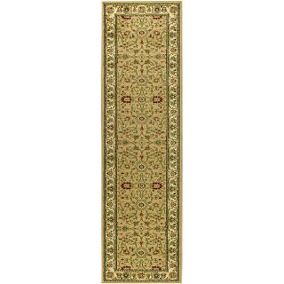 Lyndhurst Collection Majestic Beige/ Ivory Runner (23 X 8)