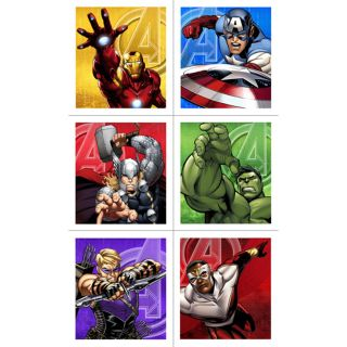 Avengers Assemble Sticker Sheets