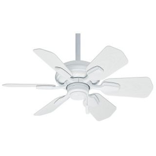Casablanca 5952 Wailea 31 in. Indoor / Outdoor Ceiling Fan Snow White   59523