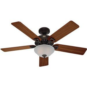 Hunter HUF 53057 The Astoria Large Room Ceiling Fan with light